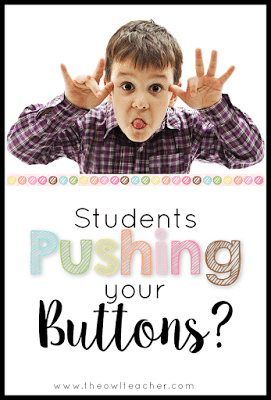 Do you have some students in your classroom whose behavior just pushes your buttons? Classroom management does not have to be an issue with these tips and ideas!