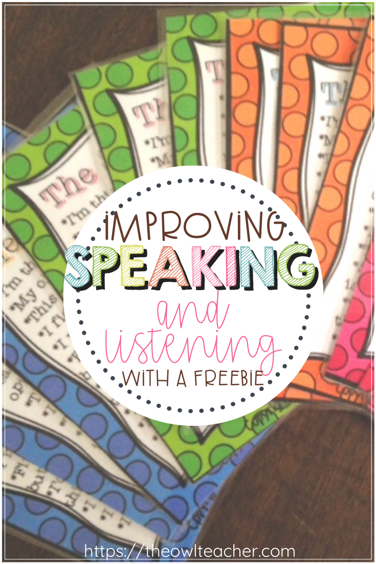 Speaking and Listening are important common core reading skills that MUST be implemented in your reading lessons. The best way to do that is by using these FREE conversation cards!