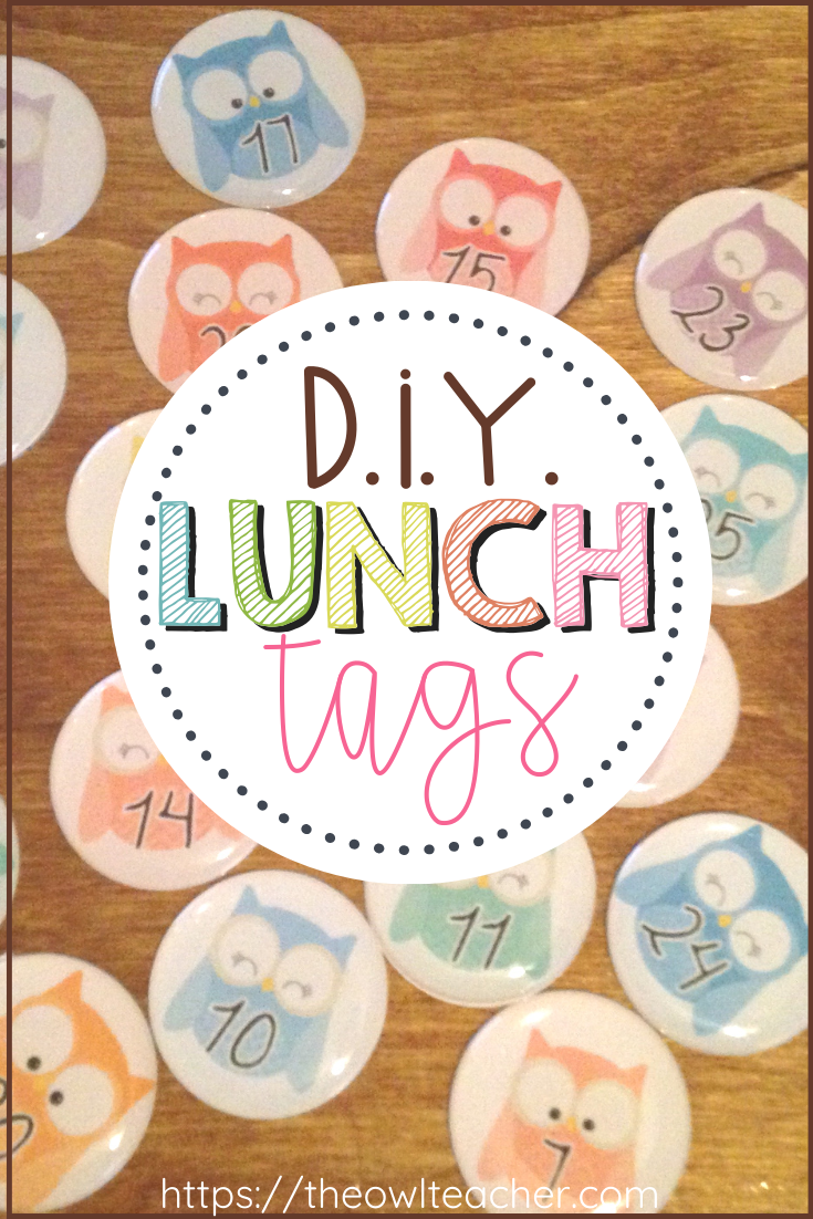 Do you need an organized routine to help students with lunch choices and attendance? This DIY lunch tags idea is perfect for managing these!