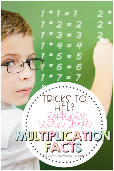 Help your students become fluent with their multiplication facts with these 5 tips and tricks! Plus, a math game freebie!