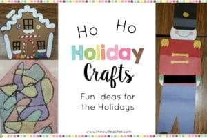 Check out these engaging holiday craft ideas for your classroom! This blog post has lots of Christmas ideas and crafts for you!