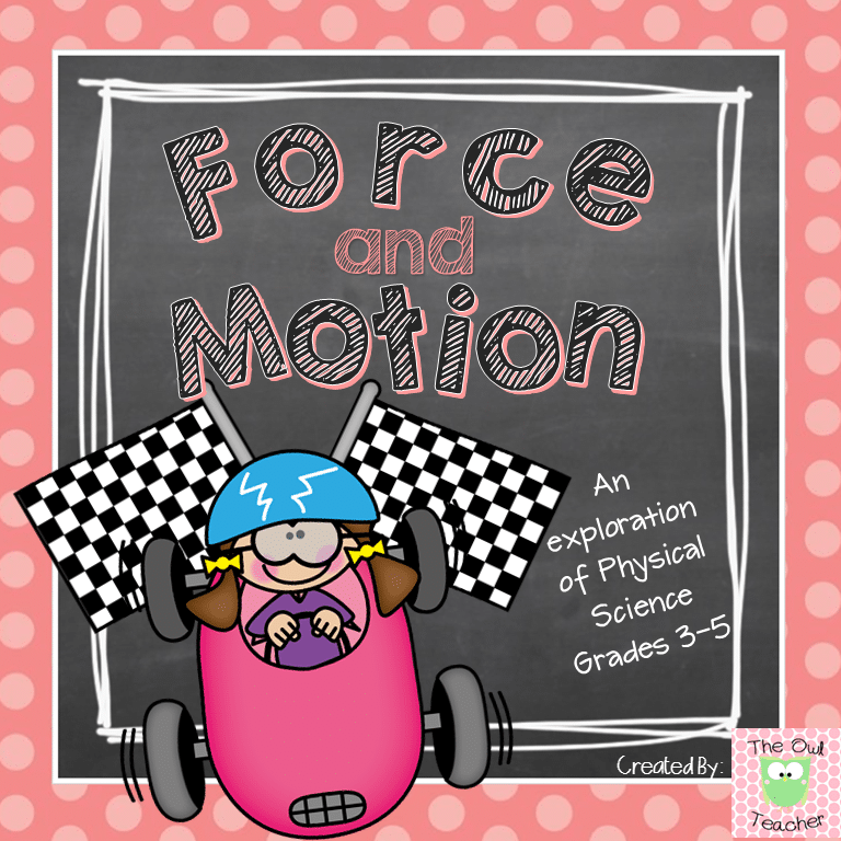 https://www.teacherspayteachers.com/Product/Force-and-Motion-Science-Unit-1655607