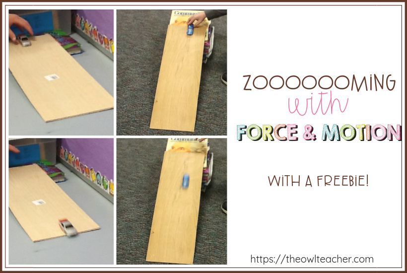 Explore force and motion with these hands-on engaging activities that are sure to get your students' motor running. While you're here, grab a free activity!