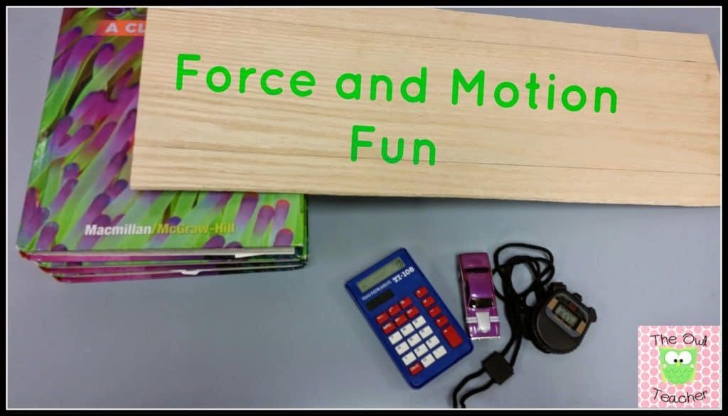 For and motion science experiments