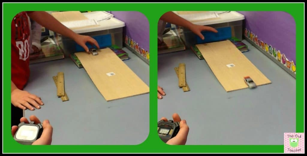 Force and motion science experiments