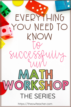 What is math workshop and how can you get started? How is it different from guided math? There are lots of questions surrounding this math model! This blog post series helps you get started and provides you with everything you need to know to run it successfully in your classroom! Save this pin and click through now!