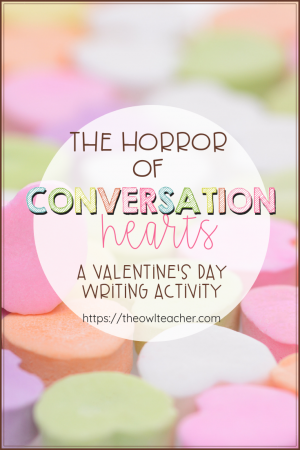 This humorous post offers up a fun idea for teaching writing for Valentine's Day activities in the elementary classroom!