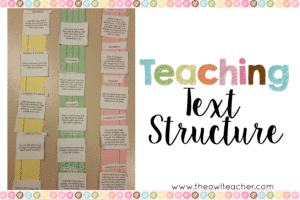 Text Structure 2x3