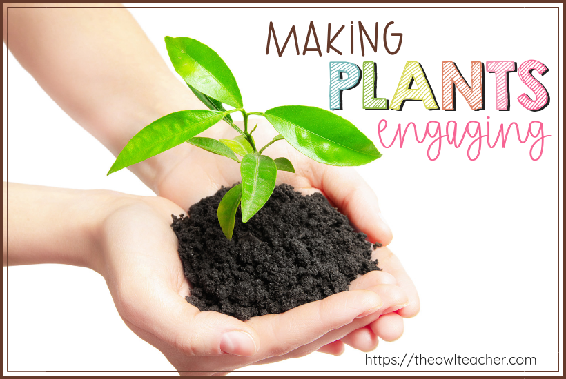 Teaching about plants during science does not have to be boring. Check out these ways to be engaging while teaching science and plant activities!