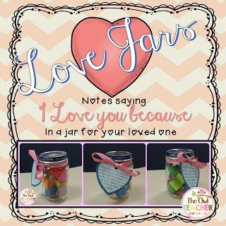 Click this picture or the link above for a free template for Mother's Day love jars!