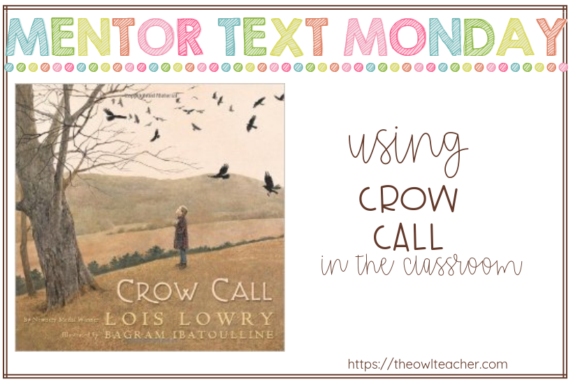 This mentor text helps teachers teach reading strategies such as questioning and is perfect for teaching vocabulary!