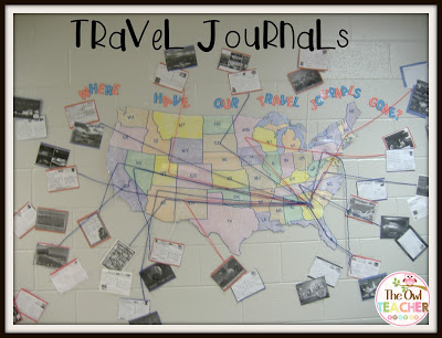 I'm always looking for an engaging social studies lesson to teach and this also brings aboard writing journals! Check out these engaging travel journals that will motivate your students to learn about geography!