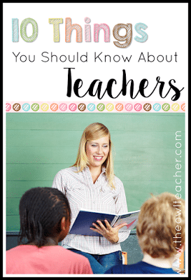 As a teacher our priorities are our students in the classroom and making sure they are learning! But there are just some other things that parents really need to know about teachers!