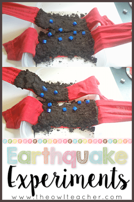 Help your students understand the effects of an earthquake during your fast and slow changes of the earth unit! This science experiment is perfect for engaging your students and it's a hands-on activity!