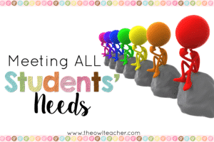 Meeting All Students Needs2x3