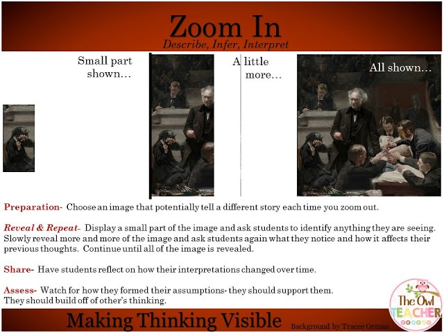 Thinking Routines Zoom In