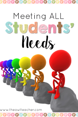 With our classrooms and students as diverse as ever, we need to figure out ways to differentiate and meet their needs. Check out these ideas and tips to help you!
