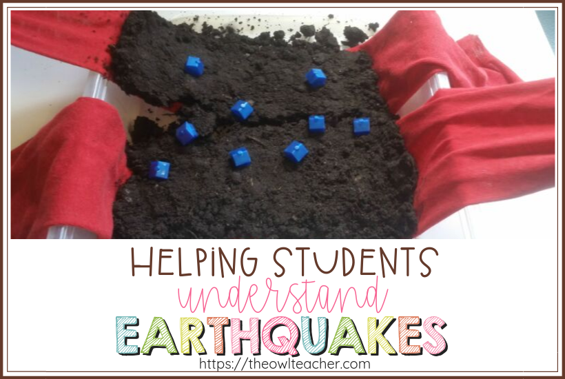 Help your students understand the effects of an earthquake during your fast and slow changes of the earth unit! These earthquake experiments are perfect for engaging your students and they're hands-on activities!