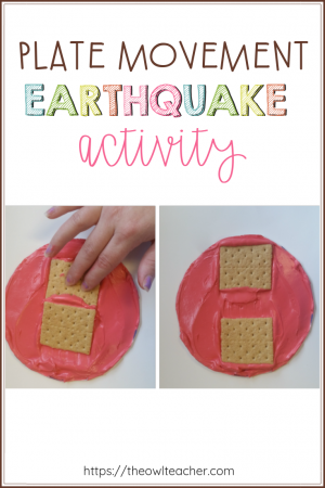 Teaching earthquakes and earth science concepts of plate movement and does not have to be destructive! Instead check out these engaging science experiments and ideas that are sure to get your students moving!
