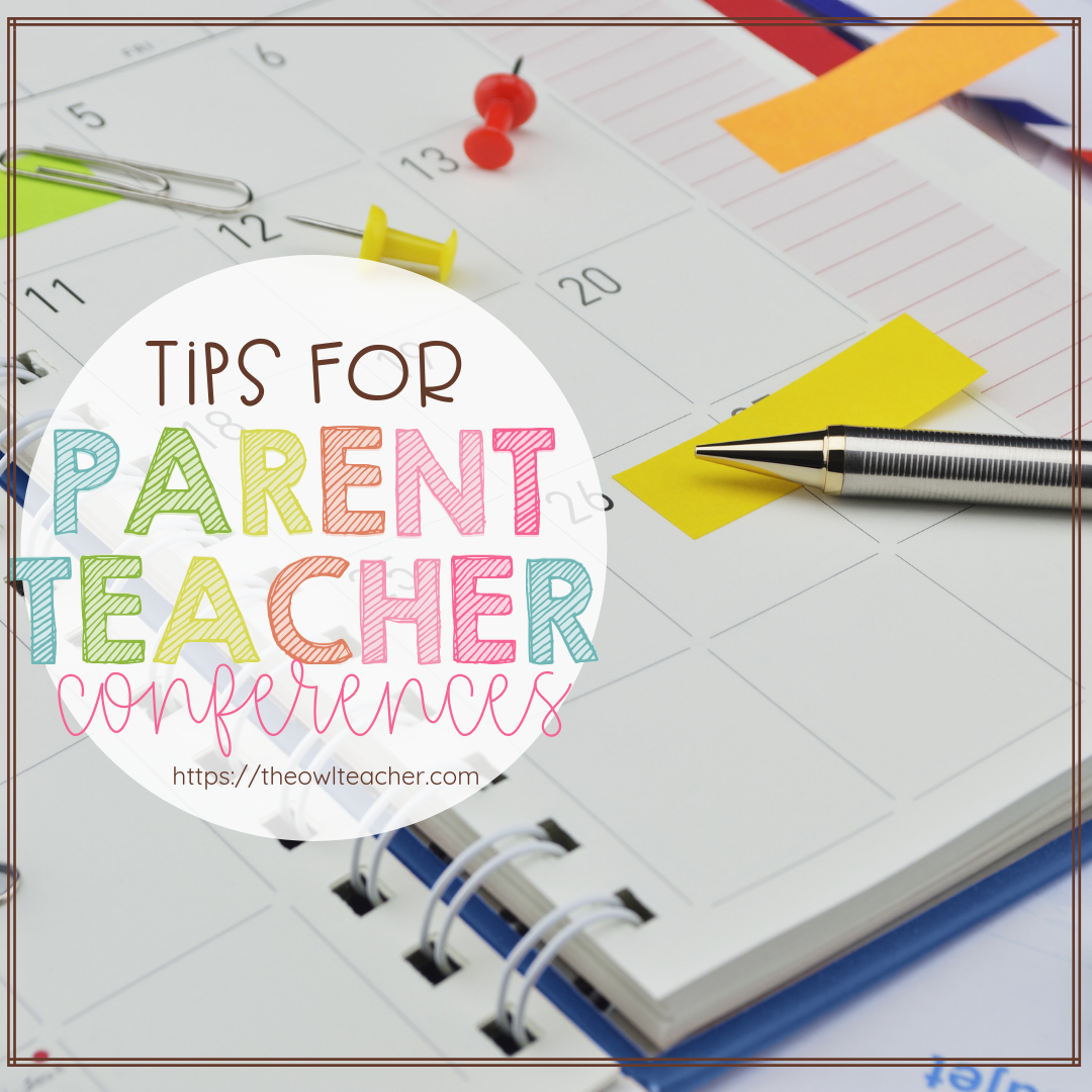 What should you do at Parent Teacher Conferences? This post has some ideas and tips on how to make your parent teacher conferences successful!