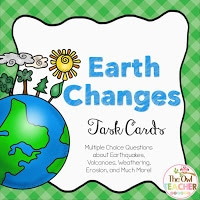 https://www.teacherspayteachers.com/Product/Earth-Changes-Task-Cards-2028603