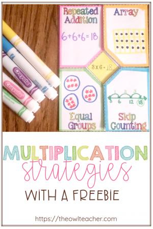 It's important students are learning their multiplication strategies such as arrays, repeated addition, equal grouping, and skip counting. So why not make it engaging with these ideas and activities that you can download for FREE?
