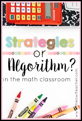 Teachers everywhere are expected to not only teach math fact fluency, but also math strategies in the elementary classroom thanks to common core. But is that the best strategy? And how do you explain this to parents? Check this out and see what you think!