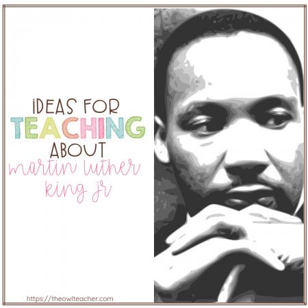 Dr. Martin Luther King Jr is one of the most important men of his era, if not THE most important. Don't miss this opportunity to share a significant lesson with your students about freedom and equality!