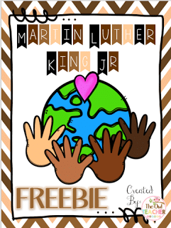 Click here to access my Martin Luther King Jr freebie!