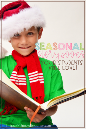 If you are looking for some great read alouds during this Christmas or holiday season, look no further! Check out these fantastic seasonal books that will engage your students!