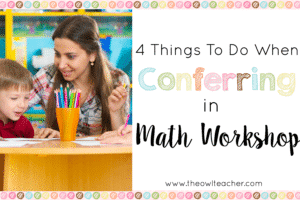 Conferring Math Workshop