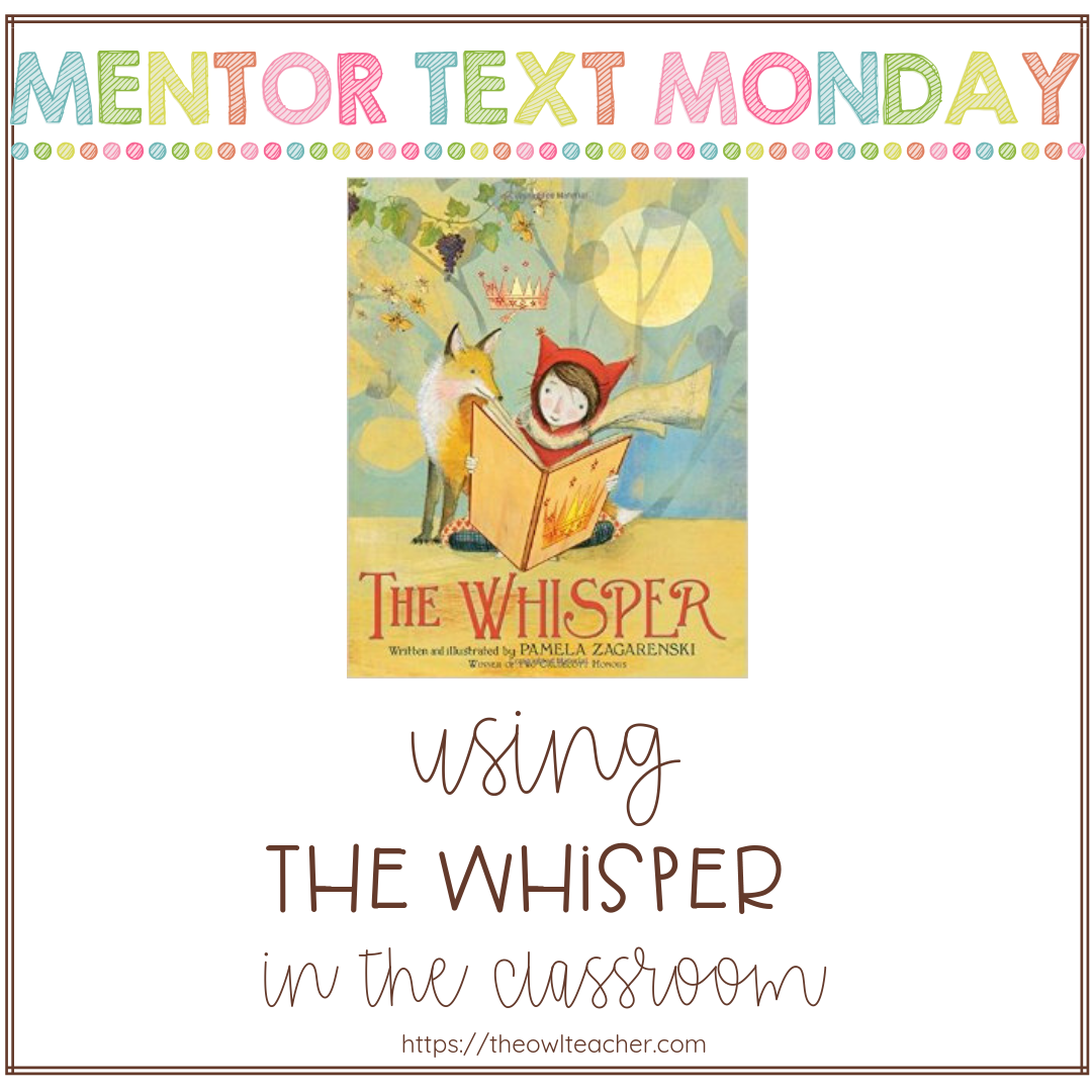 "Engage your students in your elementary classroom with ""The Whisper"" while teaching about the reading skills of author's purpose, point of view, and more!"