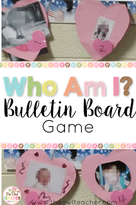 This Valentine's Day display idea turns into an interactive bulletin board that makes a fun and simple game in the elementary classroom! It will definitely engage your students and fellow teachers!