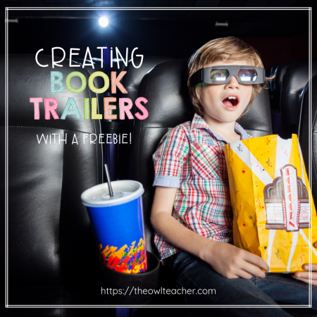 Motivate students to read books, while engaging them with creating their own book trailers with this fun reading activity. Grab a freebie to get started!
