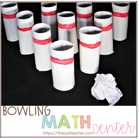 Are you looking for math centers that can stay up year long and be used with many math concept? Try out this simple and engaging game and activity for any elementary math classroom!