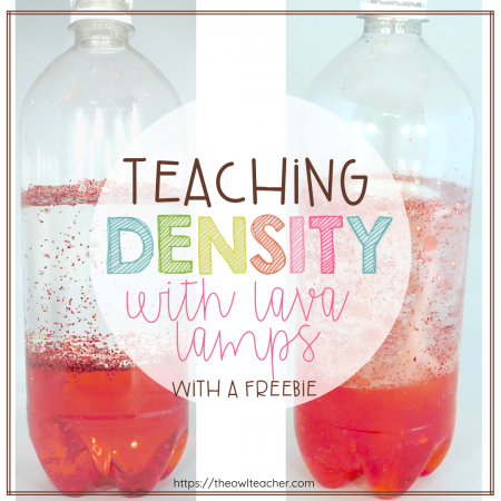 Explore density with your elementary students while creating lava lamps in this free science activity.