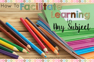It is absolutely possible to facilitate learning in any subject with the six tips listed in this post. These suggestions are all based on foundational teaching practices and not on specific course curriculum. Click through to get these tips and save this post to reference later!