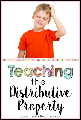 Teaching math can be difficult already without throwing in the distributive property too! Check out these ideas and activities to help you teach the math concept of the distributive property to your elementary students!