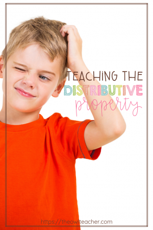 Many upper elementary students find the distributive property to be tricky, so I prefer to take it slow while teaching it. In this post, I describe my exact steps for introducing the distributive property and working through mastering its basics with my students.