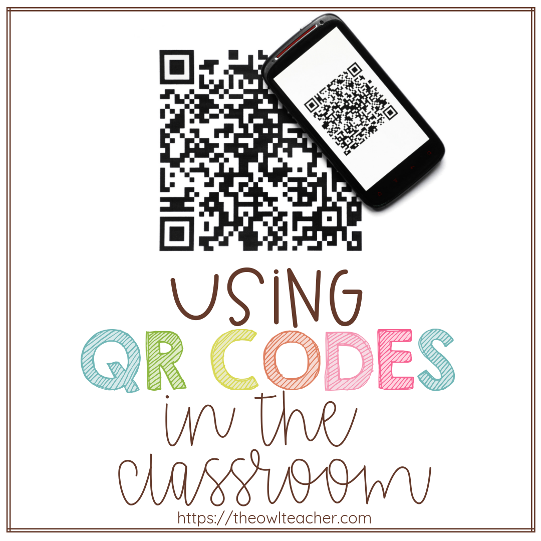 Do you feel intimidated by using QR codes in the classroom? There's no need for that, as they're very easy to make and use! This blog post gives a quick tutorial of how to make QR codes and incorporate them into lessons and activities, so click through to learn how!