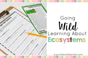 Gain some engaging ideas about how to teach the types of ecosystems while teaching reading skills in your science class with these fun activities!