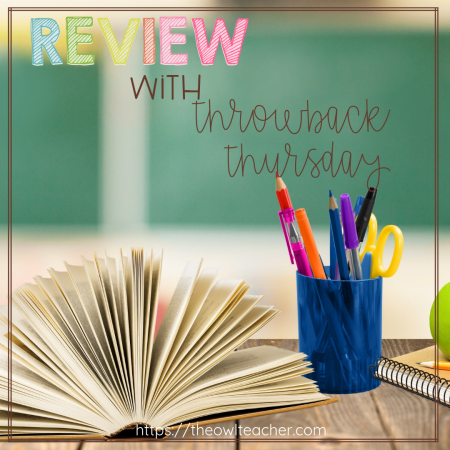 Throwback Thursday in the classroom? Why not?! It provides for the perfect opportunity for - you guessed it! - spiral review! We know how important it is to keep old topics fresh in students' minds, and spiral review is a great way to do that. Make it fun and authentic for students by putting a Throwback Thursday (or maybe Flashback Friday) spin on it!