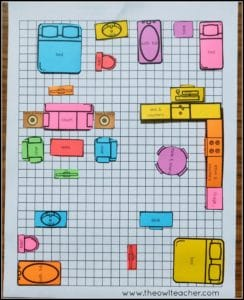 """Applied math is an essential aspect of the Common Core State Standards for mathematics. To implement applied math in an engaging and authentic way, I created this """"design my house"""" estimating area and perimeter activity, which you can read all about in this blog post!"""
