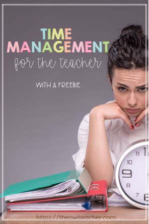 Time management is and always has been a struggle for educators. There is just so much we need to do, so many tasks piled on our plates. I'm sharing some of the things I've learned over the years that have helped me better manage my time and reclaim my personal life. I hope they help you, too!