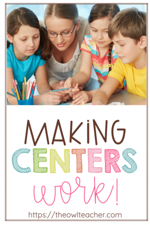 Some teachers absolutely love centers, while other teachers want nothing to do with them. Centers can be challenging to set up and maintain, but once you have them in motion, they can be used for any subject area. In this post I describe the type of management and modeling you need to facilitate, how to set them up for sustainability, and how to keep students accountable for the work. Click through to read this post and get all of the details!