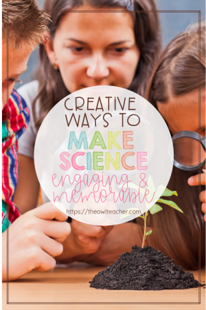 Make science engaging and memorable with this list of ideas to integrate science into students' daily school routine. Science experiments are fun, but they're usually very short-lived in terms of engagement. I provide a list of alternative ideas that allow teachers to weave science into the school day for long-term impact and to get students used to a higher exposure of science vocabulary and concepts.