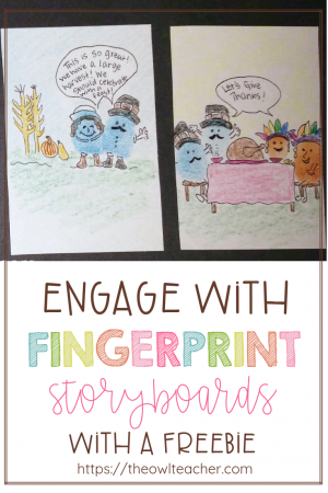 Engage your students with fingerprint storyboards. This is a strategy that can help students remember events in any content area while having fun!