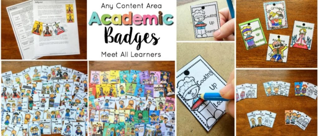 Engage your students with these unique brag tags that will differentiate instruction and meet all learners' needs of any content area.