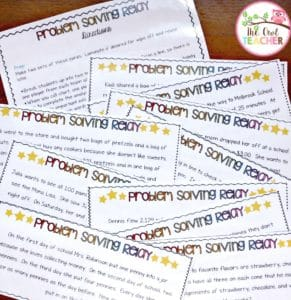Learn some tips and ideas to teaching about the strategies and steps to problem solving in math in this blog post, and grab a freebie to get you started!
