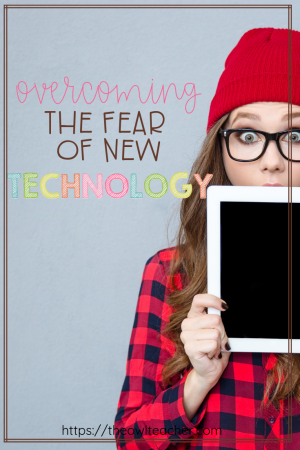 Do you have technophobia, or the fear of technology? With the constant push to use technology in the classroom and the lack of training, how can a non-geek overcome this fear? Check out these tips to help you feel more comfortable with technology!